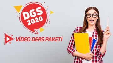 DGS 2020 (Video Ders Paketi)