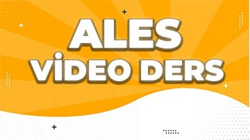 ALES 2020 (Video Ders Paketi)