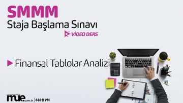 Finansal Tablolar Analizi (SMMM)